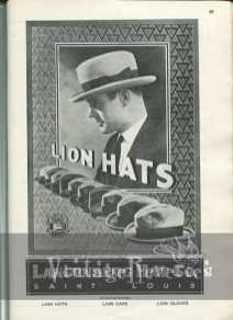 1920s mens hat fashions