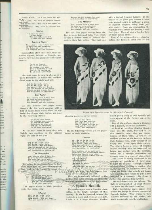 1920s fashion show - St. Louis