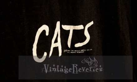 Rare 1981 Cats Musical TShirt