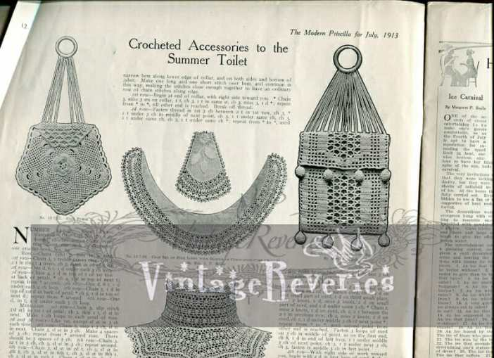 edwardian crochet patterns