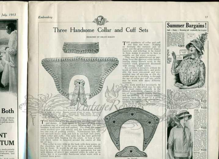 collar and cuff styles edwardian