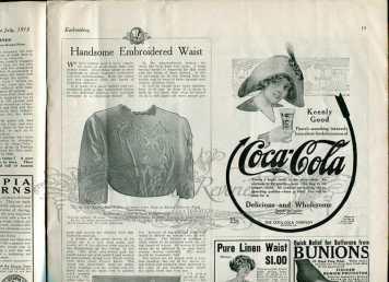 edwardian coca-cola advertisement