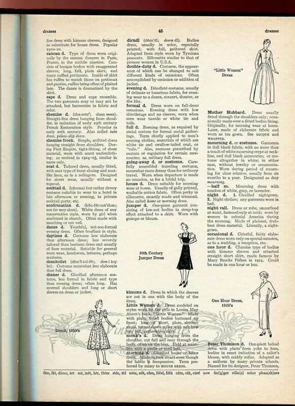 fashion study book