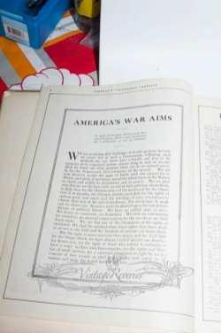 Woodrow Wilson Speech April 1917