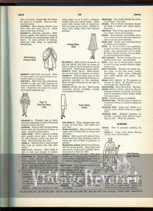 types of skirts