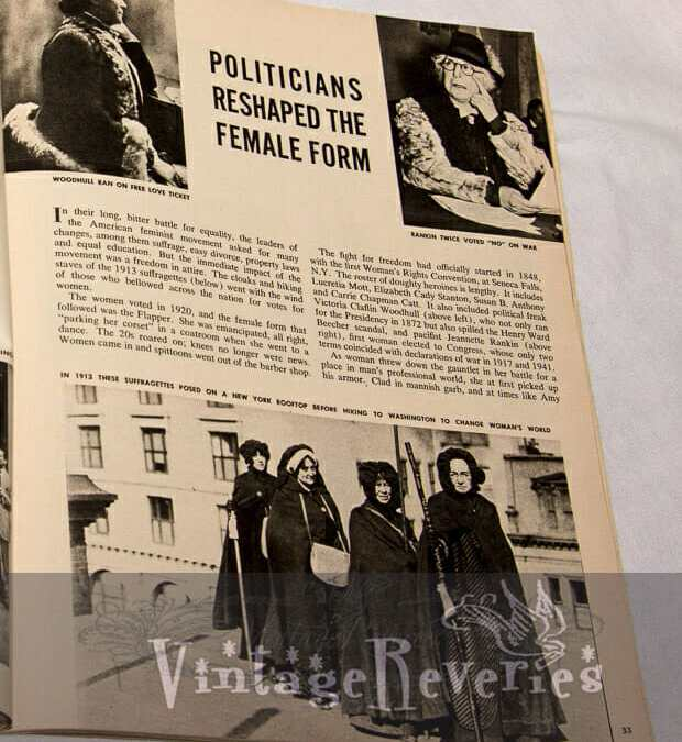How Politicians Shaped the Female Form