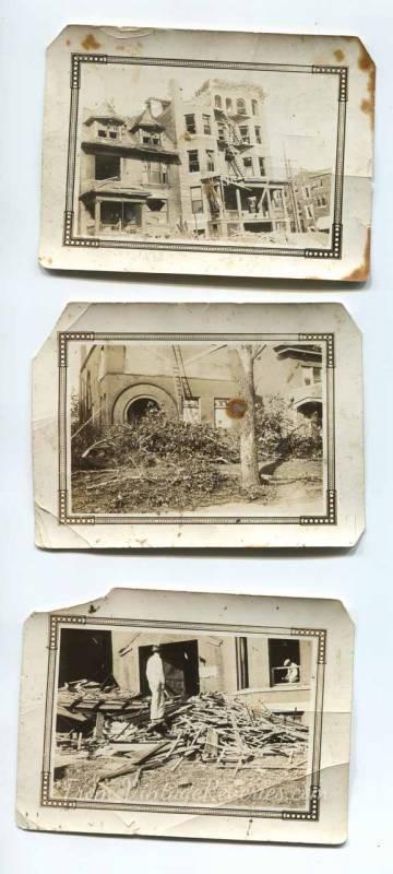 downtown st louis tornado damage 1927