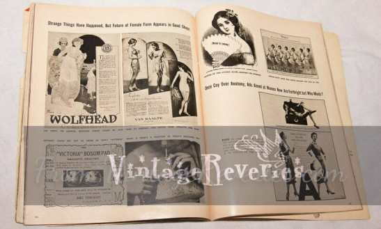lingerie advertisement history