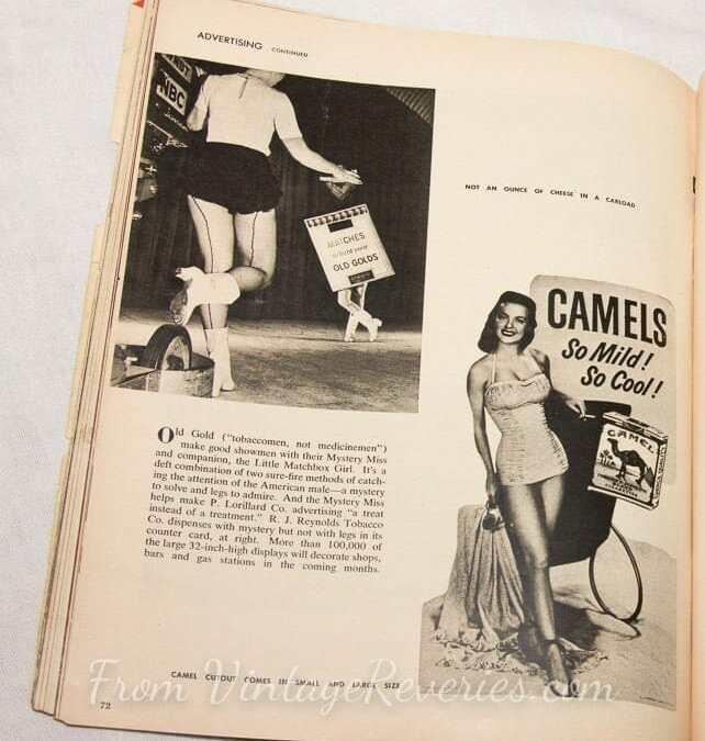 Pretty Girls Sold Tobacco – old cigarette and tobacco ads
