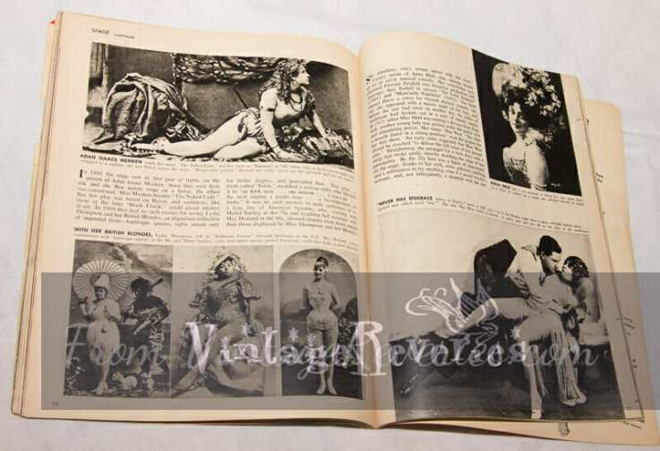 history of nudity on stage