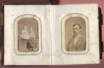 civil war children portraits