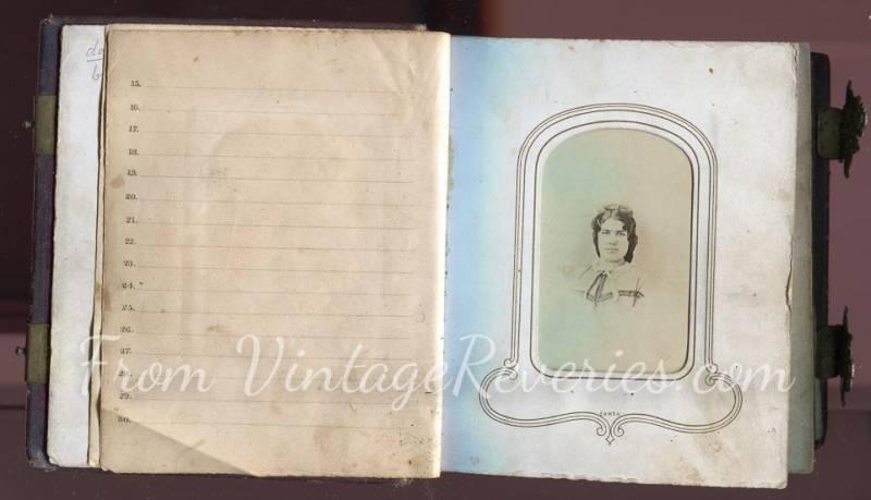 Civil War Photo Album Interior Scans – The Photographic Album