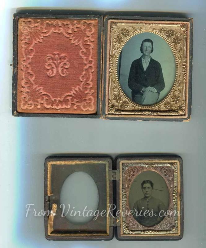 civil war pocket portrait
