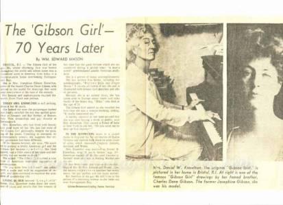 the original gibson girl