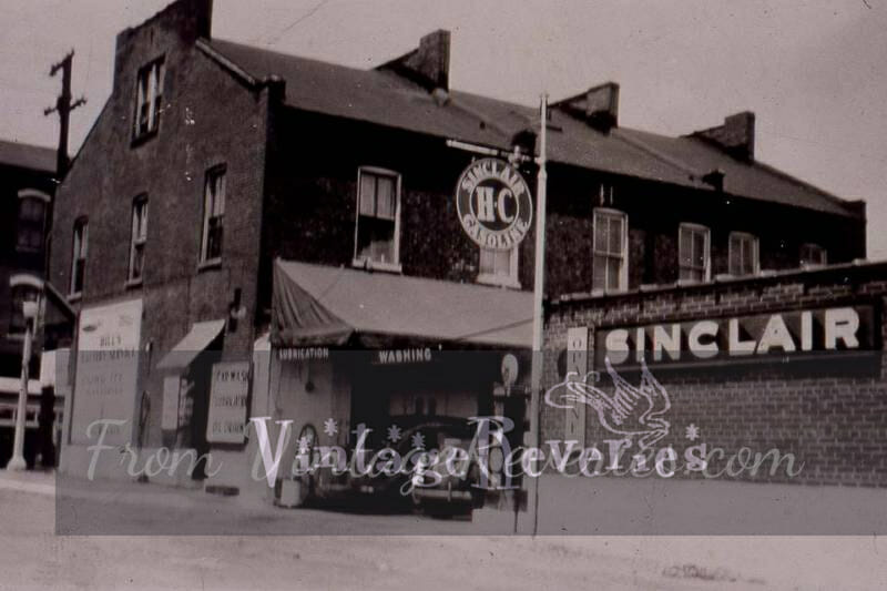Old Sinclair Gas Station Photos