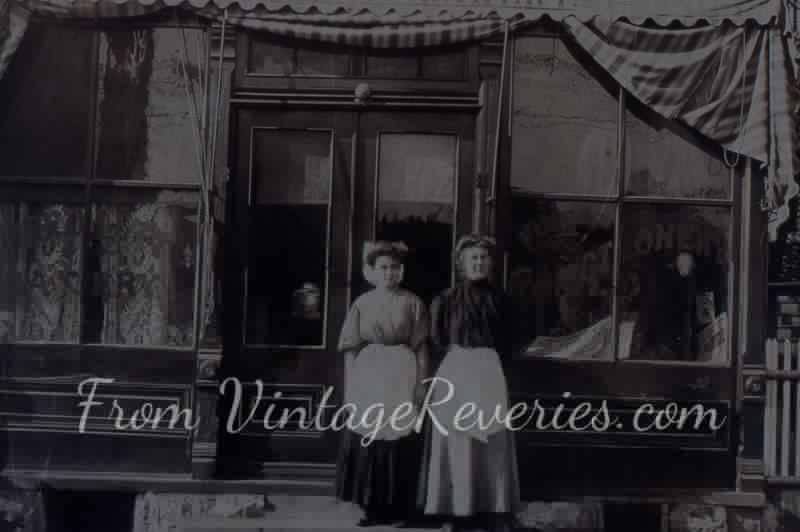 bakery shop 1917