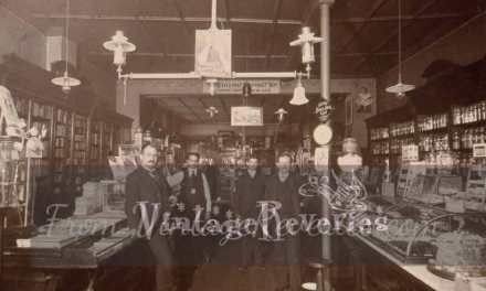 Early 1900s drugstore photos