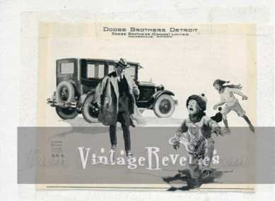 1920s Dodge dealer in Canada