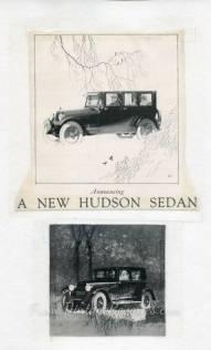 Hudson sedan advertisement