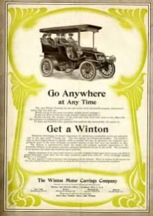 1904 Winton Motors ad