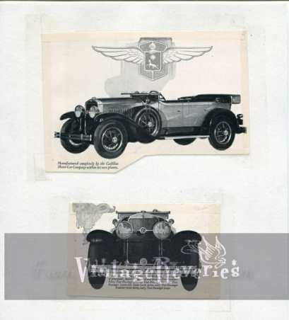 old cadillac ads