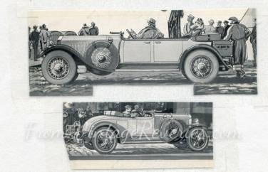 1920s Cadillac Lasalle advertisement