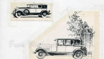1920s auto ad