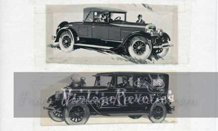 1920s Lincoln Automobile Ads