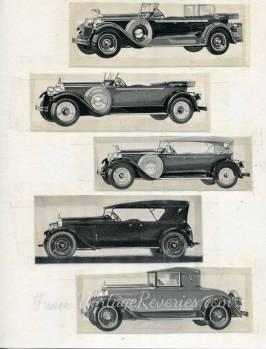 1920s auto ads