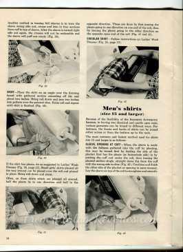 how to machine iron clothing