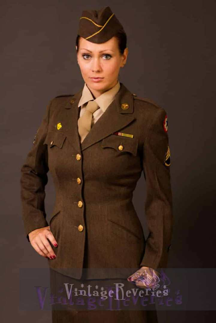 1940s wardrobe styling