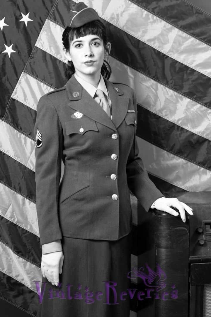 military uniform WWII