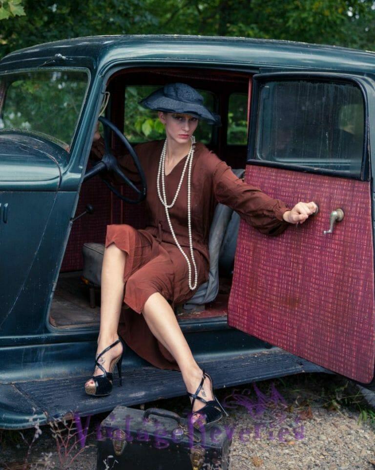 elegant retro photography
