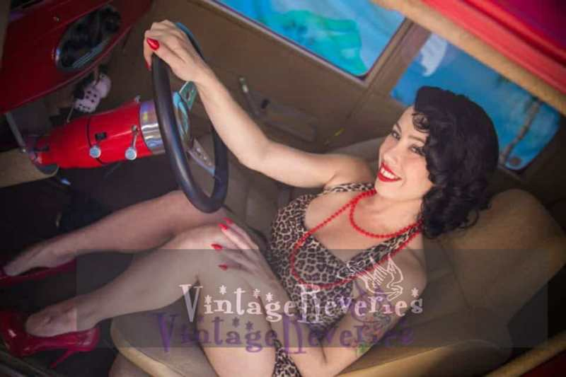 Amy Mooney Pinup model