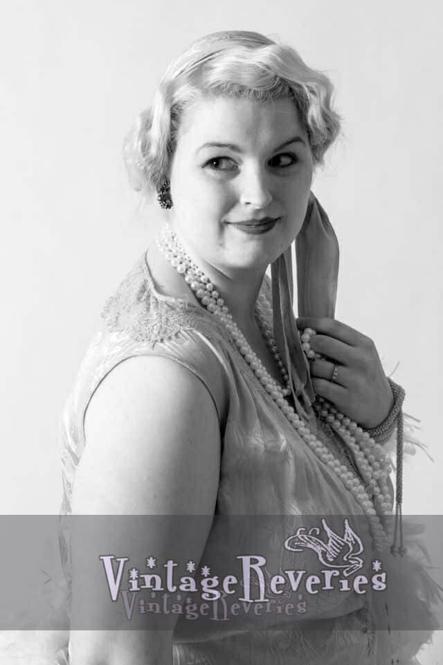1920s style portrait