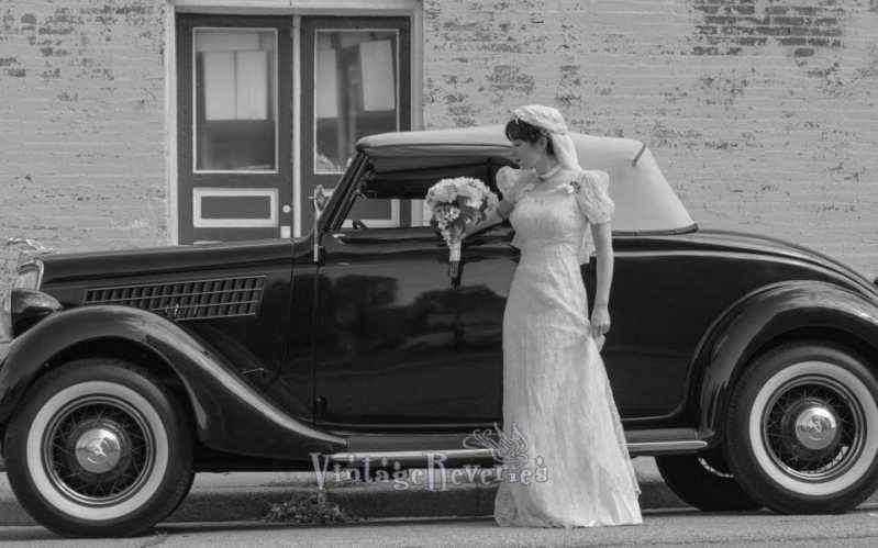 1930s style bride