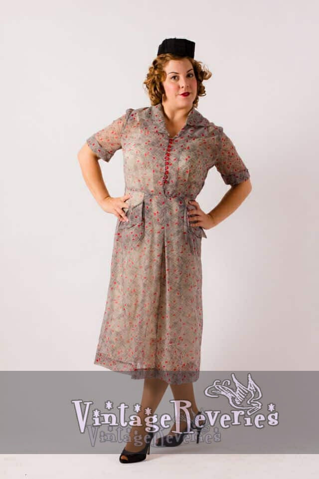 1940s pinup dress