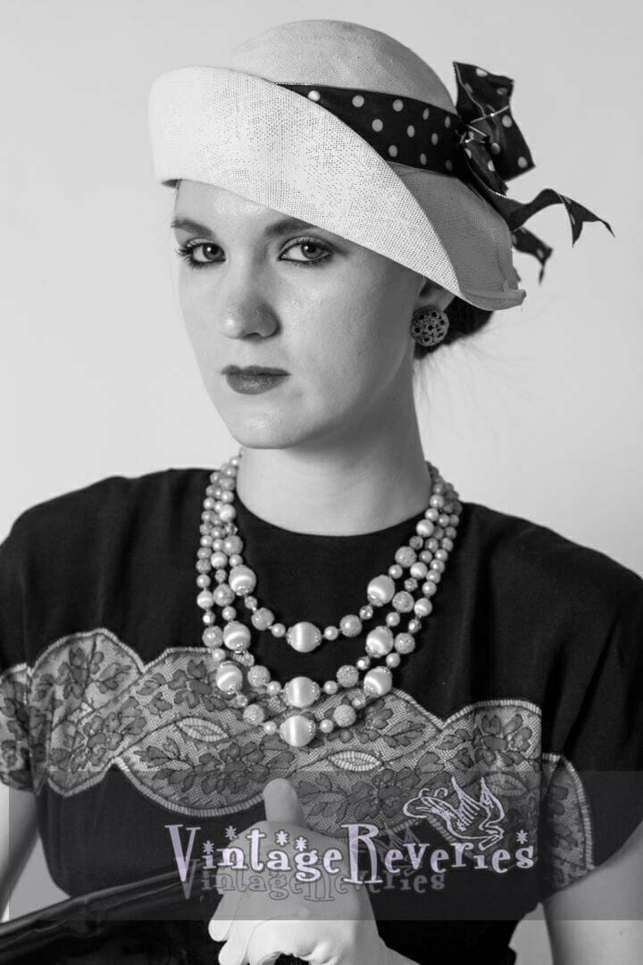 1930s style portrait