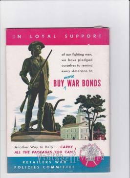 Buy War Bonds 1943 advertisement
