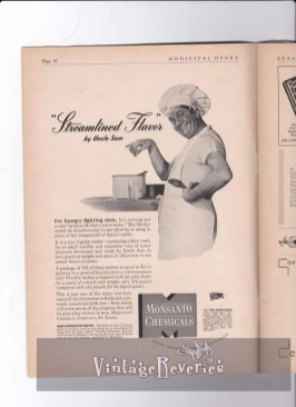 1940s Monsanto Advertisement