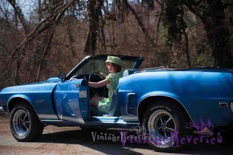 vintage 1960s car