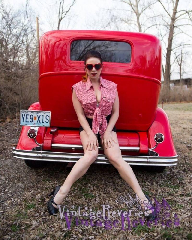 June ann pinup model