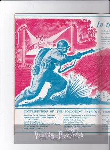 WWII advertisement art st louis