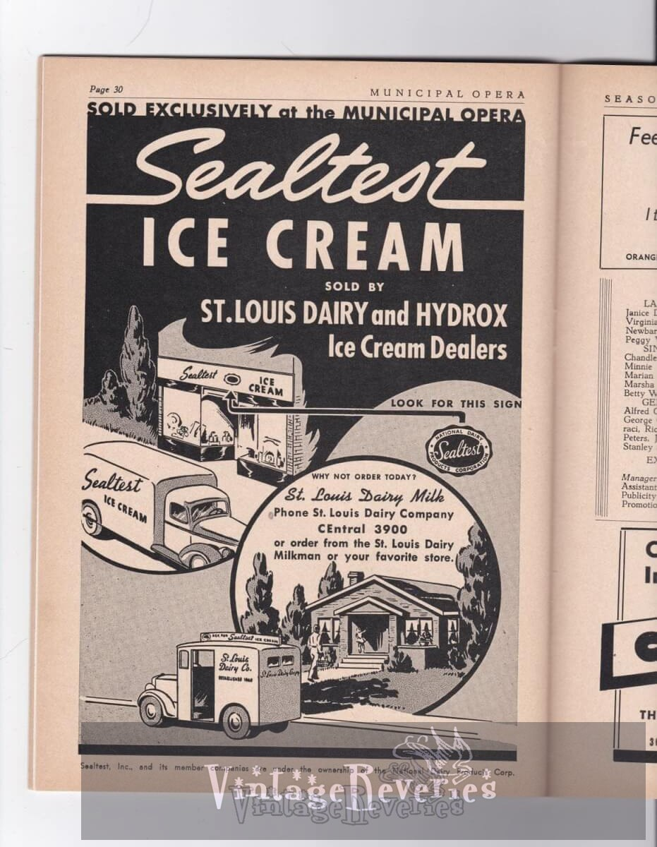 St. Louis WWII Business Ads