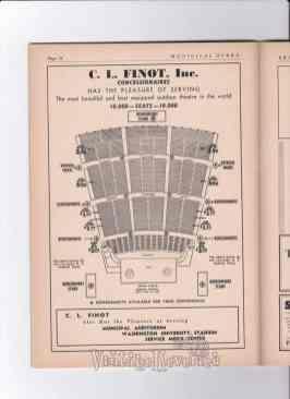 St. Louis Muny seating chart 1940s