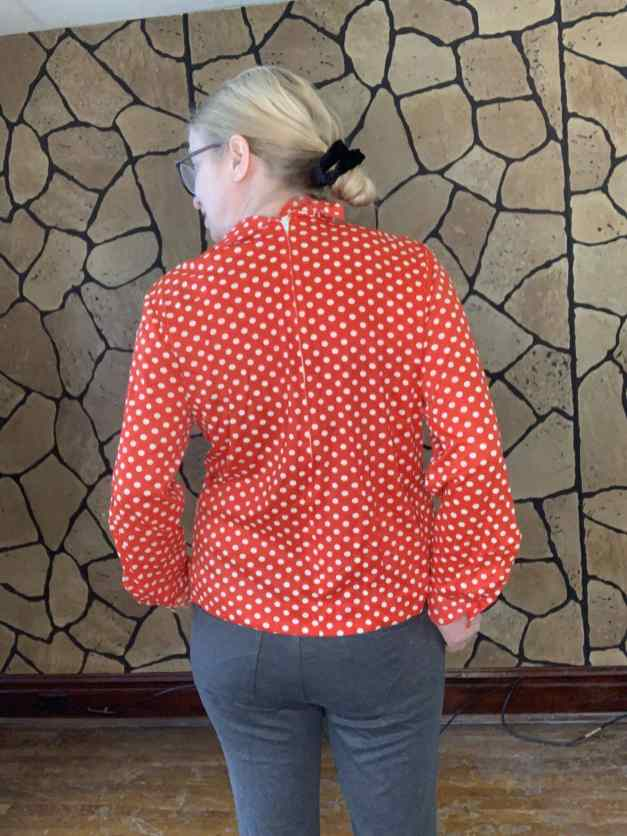 rear of 70s shirt