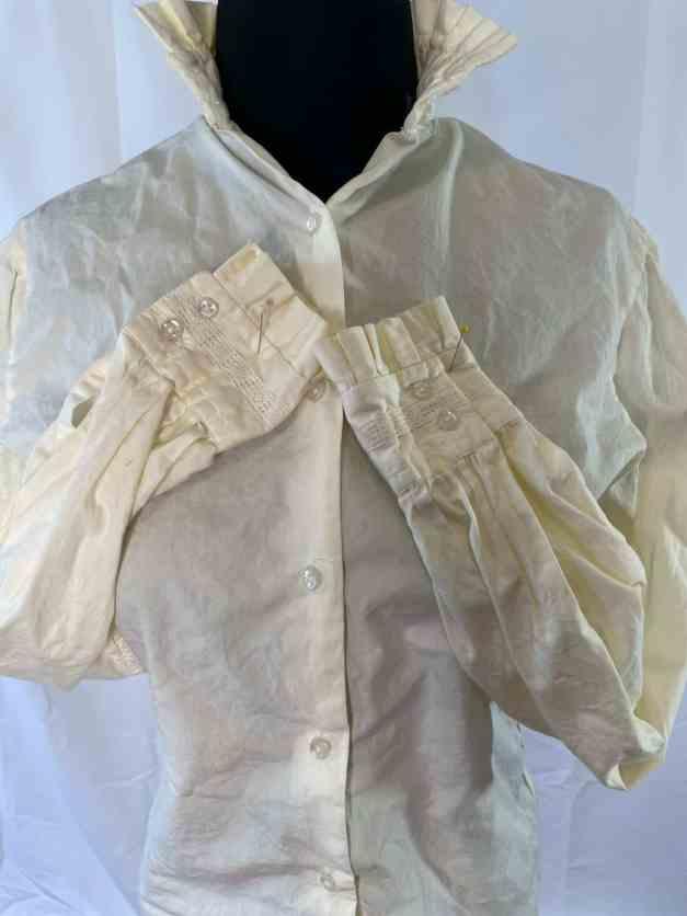 Vintage white Nantucket USA blouse
