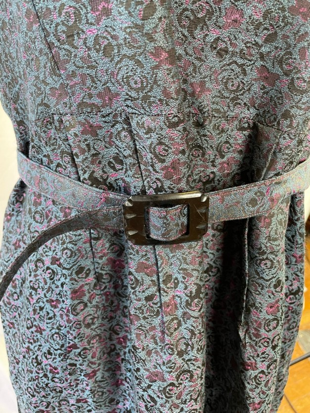 1950s belted dress