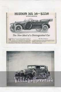 1915 Hudson car