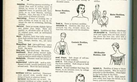 Types of Necklines Defined. Fashion Terminology, Lambswool to Nets